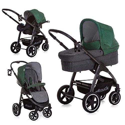 Hauck Soul Plus Trio Set Travel System, Emerald