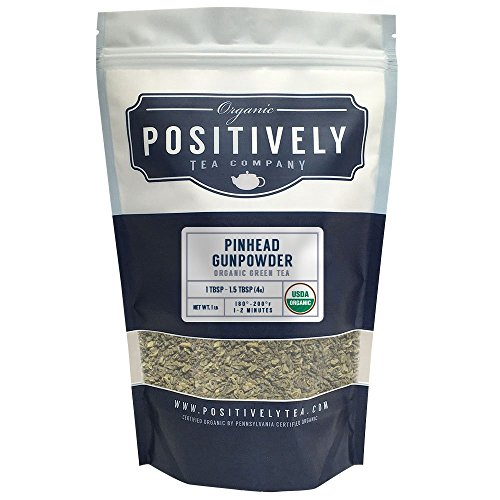 Organic Pinhead Gunpowder Tea Positively product image