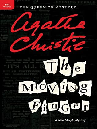 book cover of The Moving Finger