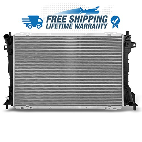 For V8 4.8L Crown Victoria Town Car Grand Marquis Marauder 2157 Aluminum Radiator Direct Bolt On Replacement