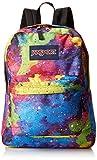JanSport Superbreak Backpack - Multi Neon Galaxy / 16.7