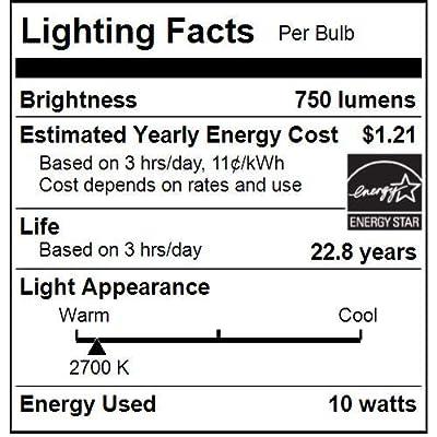 Sunlite 80945-SU LED PAR30 Short Neck Lightbulb FloodLight Spot Light Bulb Energy Star
