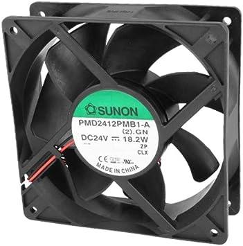 Sunon ventilador 120 x 38 mm PMD2412PMB1A DC 24 V 4200 U/min 54dBA ...