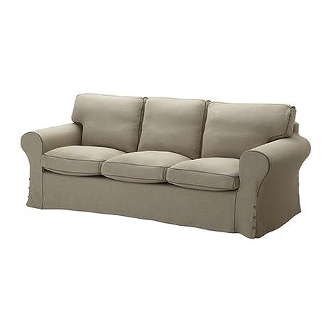Amazon.com: IKEA EKTORP – Sofá slipccover Risane Natural ...