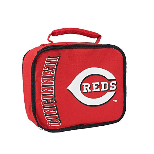 The Northwest Company MLB Cincinnati Reds Sacked Lunchbox, 10.5-Inch, Red
