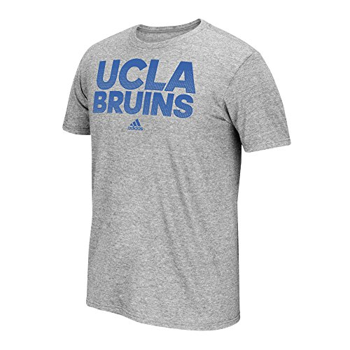 NCAA Ucla Bruins Men's Sideline Hustle Go-To Performance Short Sleeve Tee, Large, Gray