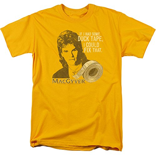 Macgyver Duct Tape Mens Short Sleeve Shirt