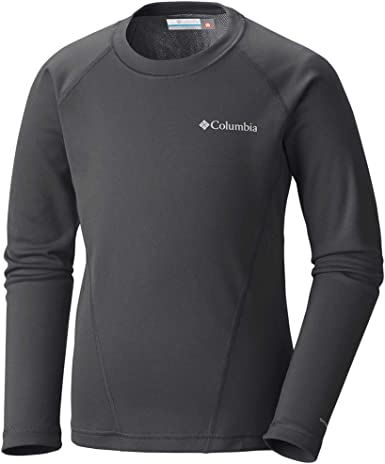 Columbia Boys Midweight Crew Base Layer Tops