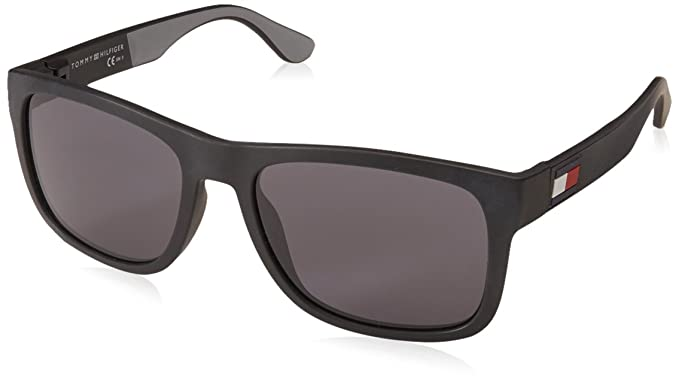 Tommy Hilfiger TH 1556/S, Gafas de Sol para Hombre, Negro (Blackgrey