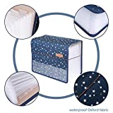 Expanding Files Folder A4 Accordion Organizers with Cover 13 Pockets, Expander Storage Wallets,Expandable Filing Folders Large Space,Office School Document with Tab for