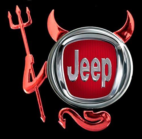 Jeep - Devil Teufel Auto Logo car T-Shirt -217