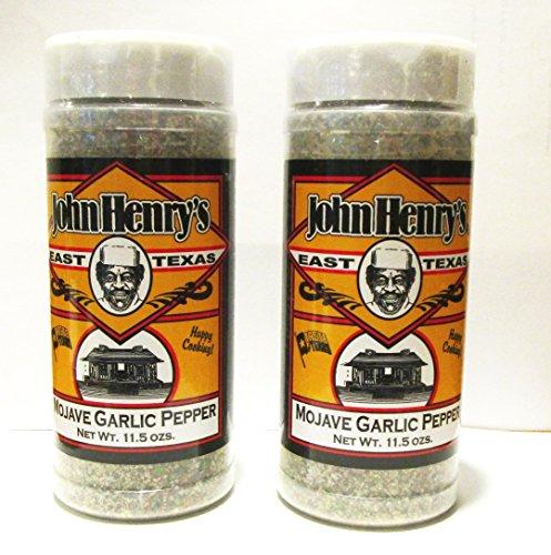 (John Henry's Mojave Garlic Pepper Seasoning BBQ Rub (2 Pack))