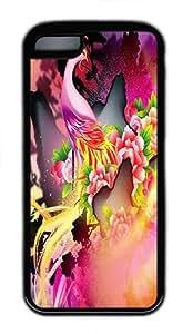 IMARTCASE iPhone 5C Case, Colorful Phoenix Durable Case Cover for Apple iPhone 5C TPU Black