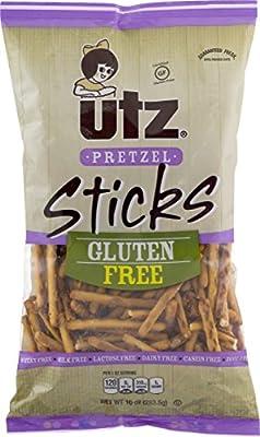 Utz Gluten Free Pretzel Sticks 10 oz. Bag