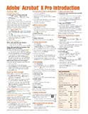 Adobe Acrobat X Introduction Quick Reference Guide (Cheat Sheet of Instructions, Tips and Shortcuts - Laminated Card), Beezix, 193622058X