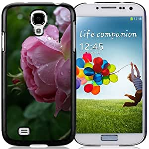 New Beautiful Custom Designed Cover Case For Samsung Galaxy S4 I9500 i337 M919 i545 r970 l720 With Roses Phone Case