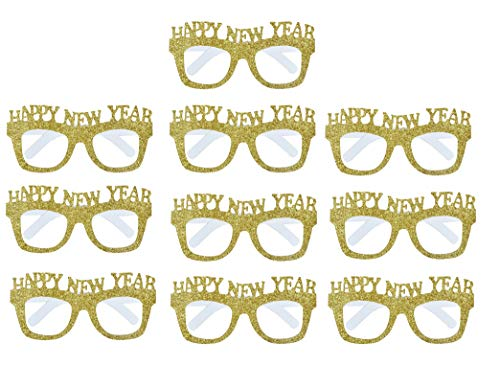 EBTOYS Happy New Year Party Favor Funny Glasses
