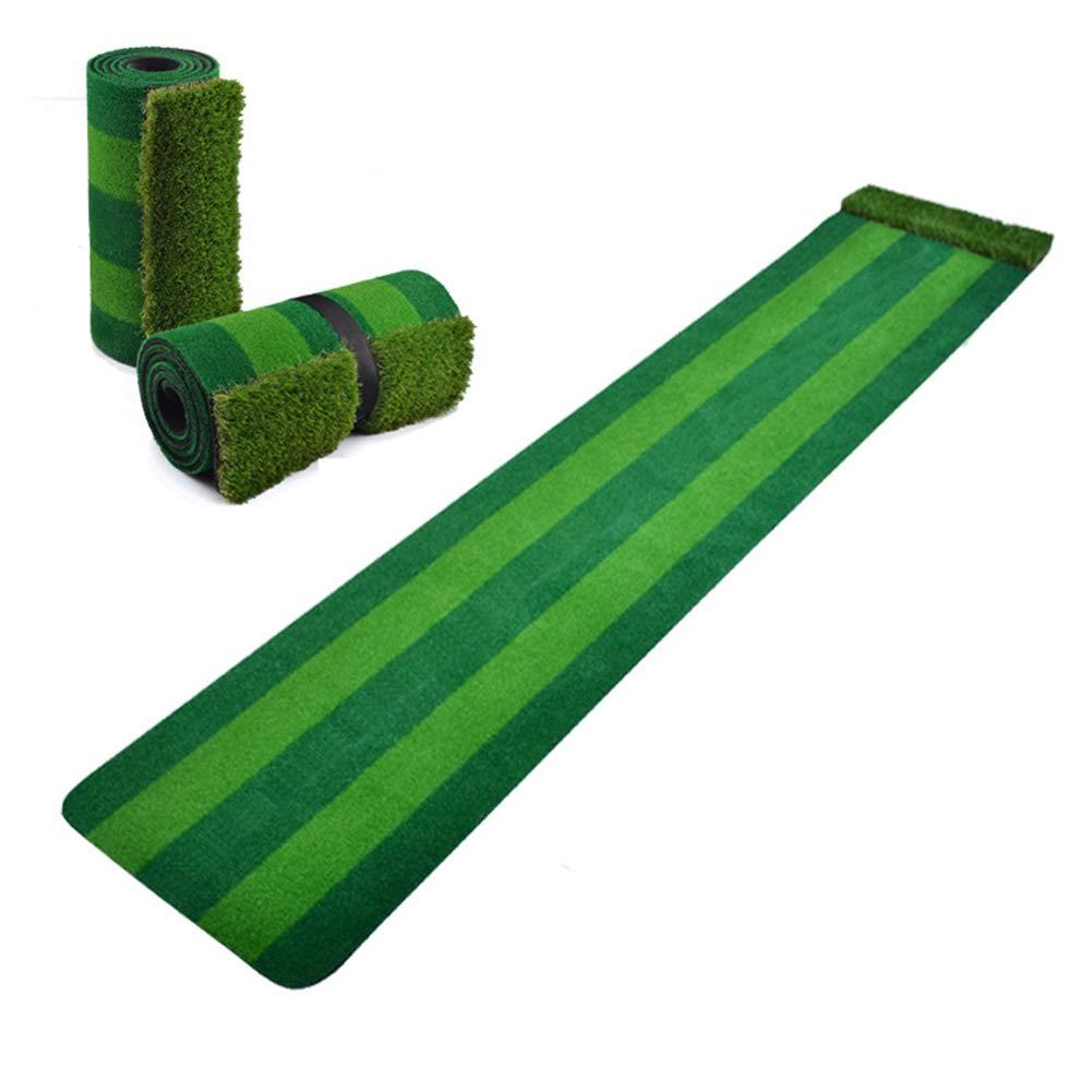 パッティングマットボール、室;内オービタルグリーンパット練習用マット(300cm×58cm)   B07L935GTN