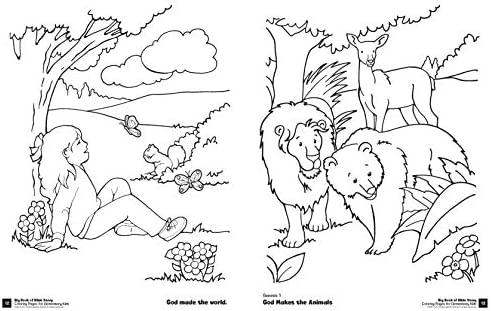 - Big Book Of Bible Story Coloring Pages For Elementary Kids (Big Books):  Cook, David C: 9780830772339: Amazon.com: Books