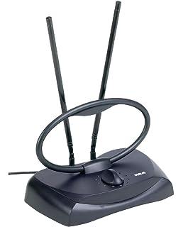 tv indoor antenna. rca ant121z durable passive indoor antenna tv e