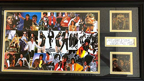 """The King of Pop"" Michael Jackson""Cut"" Signature Display Todd Mueller COA from Unknown"