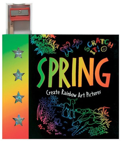 Mini Scratch It!: Spring: Create Rainbow Art Pictures (Mini Scratch It! Series) pdf