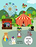 Draw and Write Journal for Kids: Cute Cat