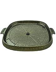Joyme Korean BBQ Grill Non Stick Marble Coating Butane Gas Stove Pan Hot Plate Portable