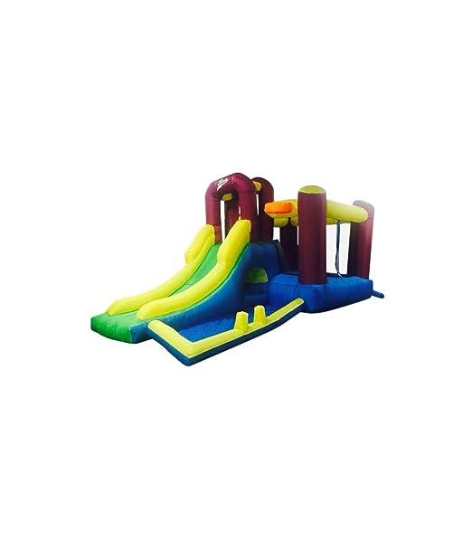 Riscko Castillo Hinchable Infantil Ch09: Amazon.es: Juguetes y juegos