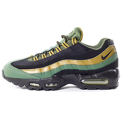 Air da Verde Carbon Green Nero mlt Essential Black Corsa 95 Uomo Scarpe Green Max Nike XvPdX
