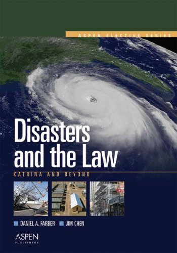 Disasters & the Law: Katrina & Beyond (Elective Series)