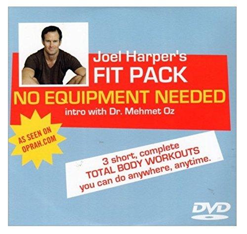 Joel Harper Fit Pack No Equipment Needed DVD - Region 0 by Joel Harper -