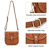Forestfish Ladie's PU Leather Vintage Hollow Bag