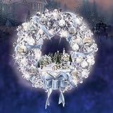 Thomas Kinkade Holiday Brilliance Crystal Wreath