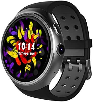 Diggro DI06 Montre Connectée - Bluetooth 4.0 Nano SIM 3G WCDMA MTK6580 1.0GHZ Quad Core RAM ...