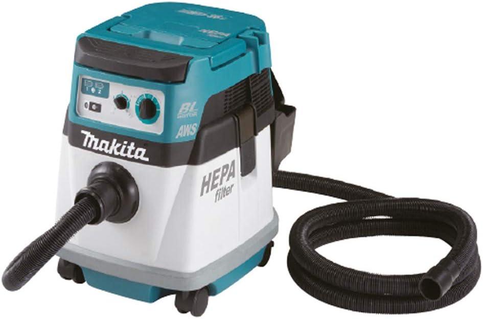 Makita DVC154LZ Aspirador 18Vx2 Bluetooth 15L, Multicolor (sin ...