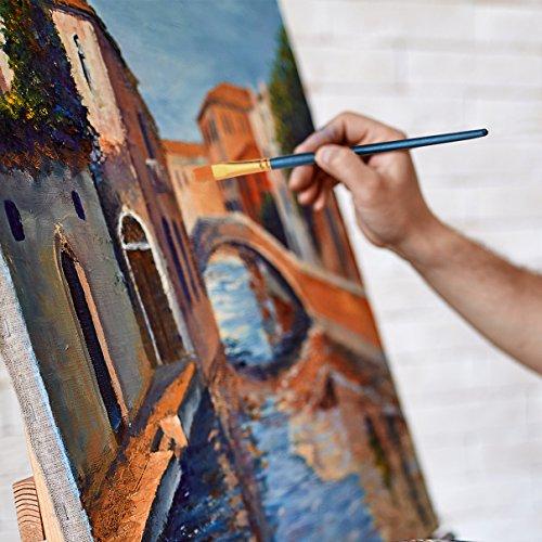 12pinceaux + 2 palettes】lismile ensemble de pinceau de peinture à ... - Technique Peinture Acrylique Sur Bois