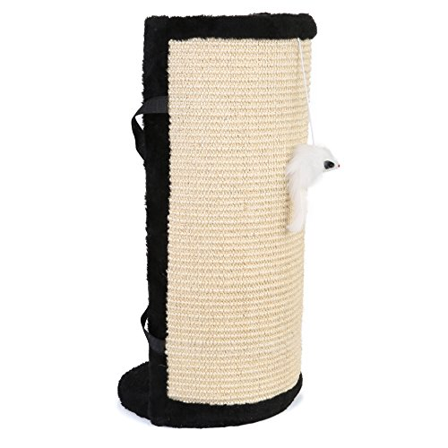 Cat Scratcher Post Pad - Features Velcro for Wrapping Aro...
