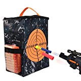 Target Pouch Storage Carry Equipment Bag para Nerf Guns Darts N-strike Elite / Mega / Rival Series