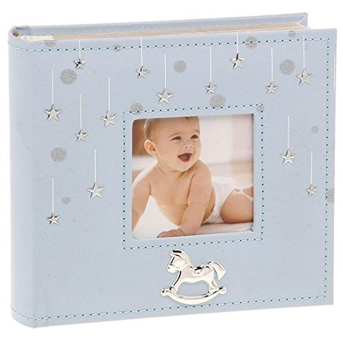 Little Stars Album photo pour bébé, Motif étoiles, 80 photos de 10 x 15 cm ukgiftstoreonline 70101