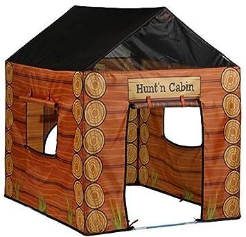 Amazon Com Love Kid Pacific Play Kids Hunting Cabin Tent House W