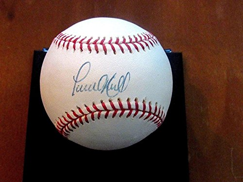 Paul O'neill Wsc Yankees Outfielder Signed Auto Oml Baseball Authentic - Steiner Sports Certified - Autographed Baseballs (Auto Oneill)