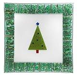 """Gorham Christmas Splendor Square Platter, 14"""""""
