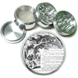 Alice In Wonderland Tenniel Cat 4Pc Aluminum Grinder D-131