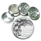 grinder alice - Alice In Wonderland Tenniel Cat 4Pc Aluminum Grinder D-131