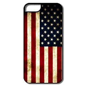 Design Cool Case Retro Style USA Flag For IPhone 5/5s