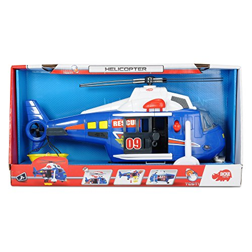 DICKIE TOYS Light and Sound (Light Helicopter)