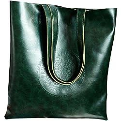 JD Million shop Vintage Women Tote Arrival Shoulder bags PU Leather Lady's Scrub Handbag Messenger bag Shopping Crossbody Bags