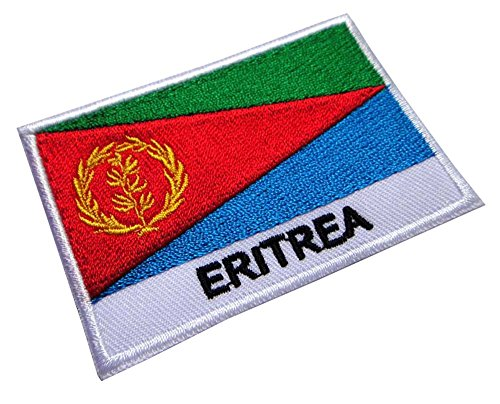 State of Eritrea Eritrean National Flag Sew on Patch Free Shipping