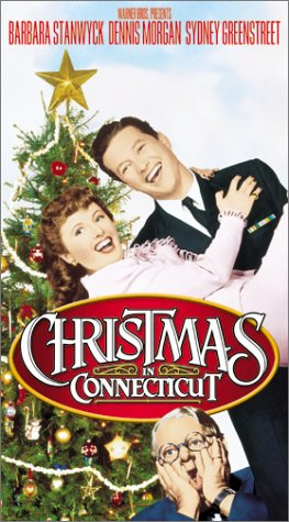Christmas In Connecticut Dvd.Amazon Com Christmas In Connecticut Vhs Barbara Stanwyck